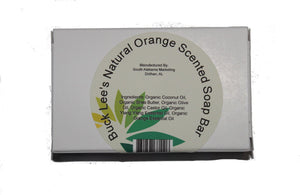 Buck Lee's Organic Orange Scented Soap Bar