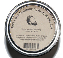 Load image into Gallery viewer, Buck Lee's Moisturizing Body Butter with Peppermint 3oz