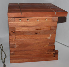 Load image into Gallery viewer, Bucklee's Naturals Solid Wood Small Songbird House/Nest Box