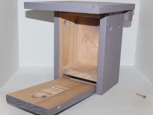Buck Lee's Naturals Solid Wood Multi-Species House/Nest Box
