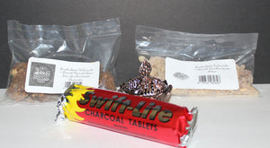 Buck Lee's Naturals 4 Piece Incense Burner Starter Kit