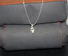 Load image into Gallery viewer, Buck Lee's Naturals Hand & Star Of David Sterling Pendants With Chain