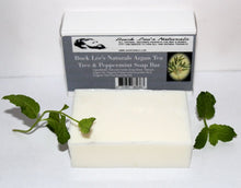 Load image into Gallery viewer, Buck Lee's Naturals Argan Tea Tree & Peppermint Soap Bar