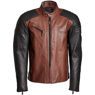 Triumph Mens Higham Leather Jacket