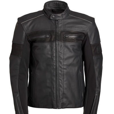 Triumph Mens Zora GTX Leather Jacket