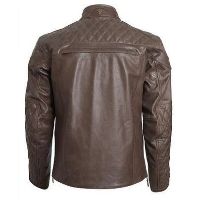 Triumph Mens Andorra Leather Jacket