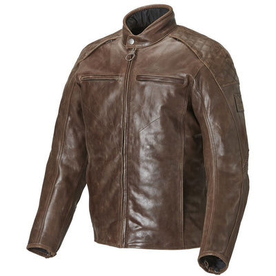 Triumph Mens Barbour Leather Jacket