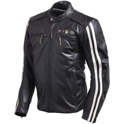 Triumph Mens Beachley Leather Jacket
