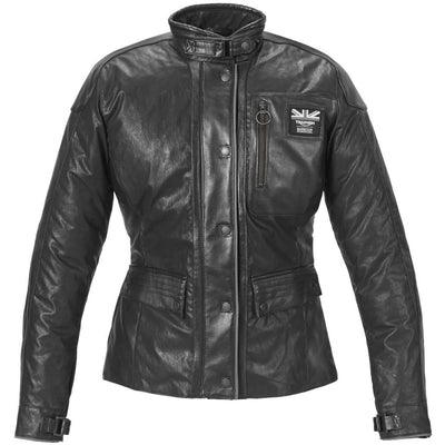 Triumph Ladies AW16 Barbour Leather Jacket