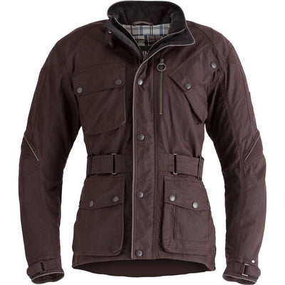 Triumph Mens Barbour Oxblood Jacket