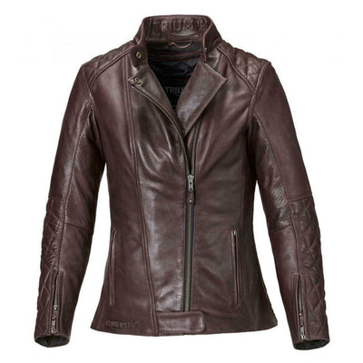 Triumph Ladies Andorra Leather Jacket