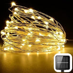 Solar LED String Lights - Dimmable