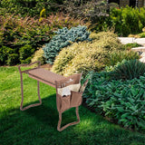 Garden Multi-Position Seat with Tool Bag
