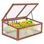 Cedar Greenhouse Cold Frame