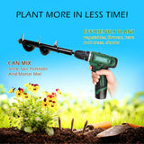 Garden Auger - Bulbs, Plants, Weeds, Digging
