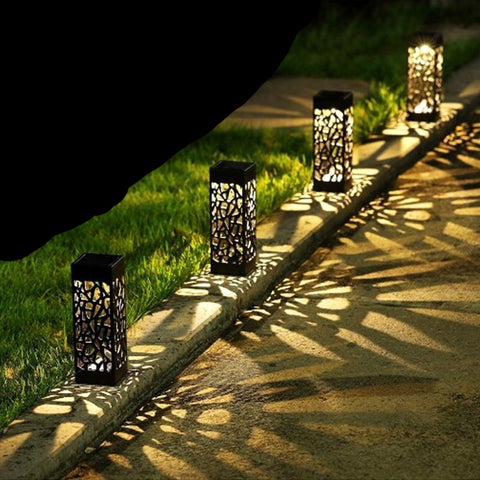 Solar LED Garden Pathway Lights