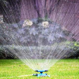 Sprinkler - Garden and Lawn 360 Degree Automatic Watering Rotary Nozzle Rotating Sprayer System
