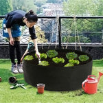 Raised Garden Bed - Circular Felt Fabric