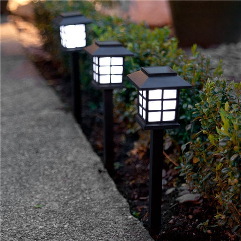 Solar LED Pathway Lanterns - 2 Pack