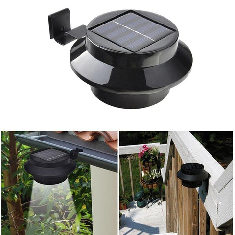 Solar LED Spot Light - Garden, Gutter, Deck, Fence Sconce