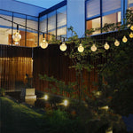 Solar LED Mini-Globe String Lights - 30 ft - Outdoor