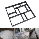 5 Style Reusable Concrete Path Molds DIY Walkway