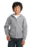 Gildan® Youth Heavy Blend™ Full-Zip Hooded Sweatshirt    18600B