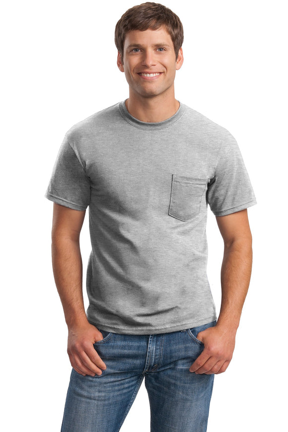 Gildan® - Ultra Cotton® 100% Cotton T-Shirt with Pocket   2300