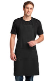 Port Authority® Easy Care Extra Long Bib Apron with Stain Release   A700