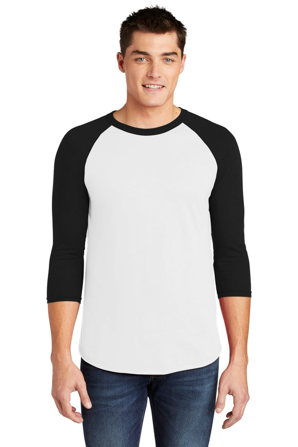 American Apparel ® Poly-Cotton 3/4-Sleeve Raglan T-Shirt   BB453W
