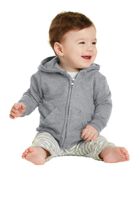 Port & Company® Infant Core Fleece Full-Zip Hooded Sweatshirt   CAR78IZH