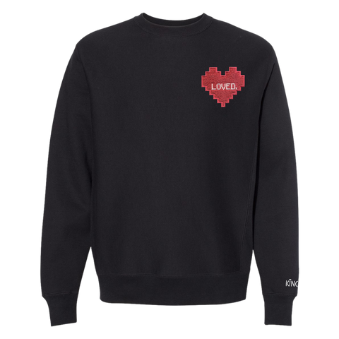 "Beloved ""Patch"" Crewneck Sweatshirt"