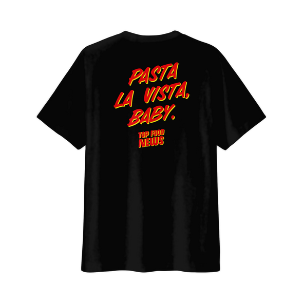 "Pasta La Vista Baby ""Pocket"" Tee (No Pocket)"