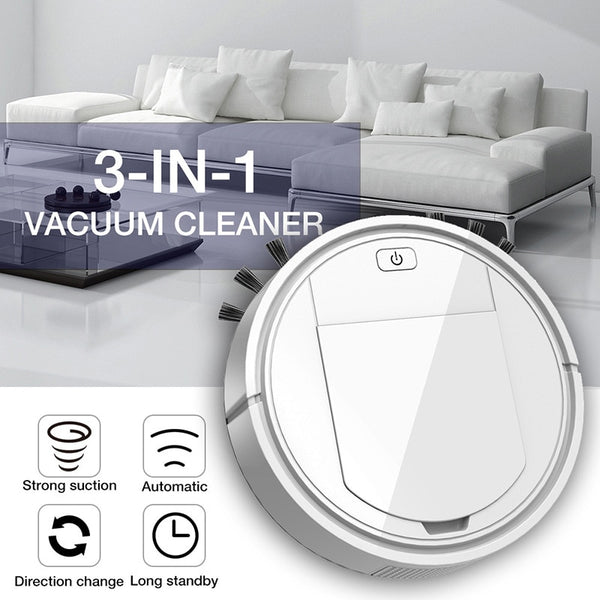 Intelligent Automatic Vacuum Cleaning Robot