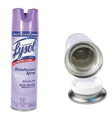 Lysol Disinfectant Spray Concealment Can Home Diversion Safe Stash Can - Concealment Cans