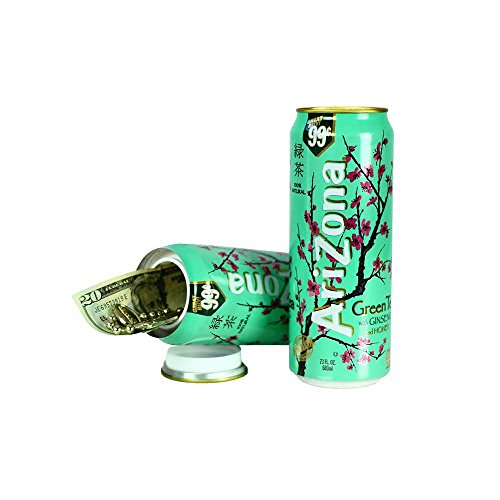 Arizona Green Tea Concealment Diversion Safe Can Stash Safe - Concealment Cans Hidden Safe