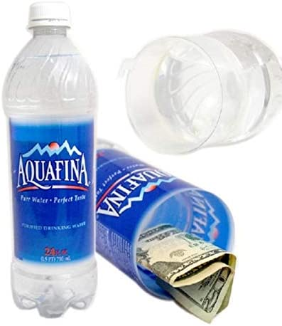 Aquafina Concealment Water Bottle Diversion Safe Stash Safe - Concealment Cans