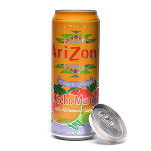 Arizona Iced Tea Mango Concealment Can Diversion Safe Stash Safe - Concealment Cans Hidden Safe