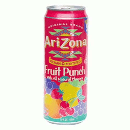Arizona Iced Tea Fruit Punch Concealment Can Diversion Safe Stash Safe - Concealment Cans Hidden Safe