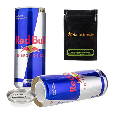 Red Bull Energy Drink Concealment Can Diversion Safe Stash Can - Concealment Cans Hidden Safe