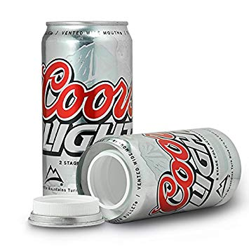 Coors Light Beer Can Concealment Diversion Safe Hidden Beer Stash Safe - Concealment Cans Hidden Safe
