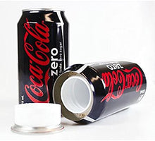 Load image into Gallery viewer, Coke Zero Soda Concealment Can Diversion Safe Stash Can - Concealment Cans