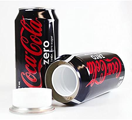 Coke Zero Soda Concealment Can Diversion Safe Stash Can - Concealment Cans