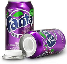 Load image into Gallery viewer, Fanta Grape Concealment Can Soda Diversion Safe Stash Can - Concealment Cans Hidden Safe