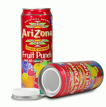 Load image into Gallery viewer, Arizona Iced Tea Fruit Punch Concealment Can Diversion Safe Stash Safe - Concealment Cans Hidden Safe