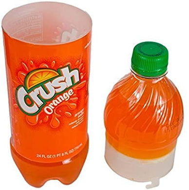 NEW Crush Orange Concealment Can Soda Diversion Stash Safe - Concealment Cans Hidden Safe