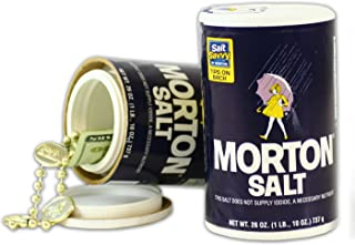 Morton Salt Home Concealment Diversion Safe Stash Safe - Concealment Cans Hidden Safe