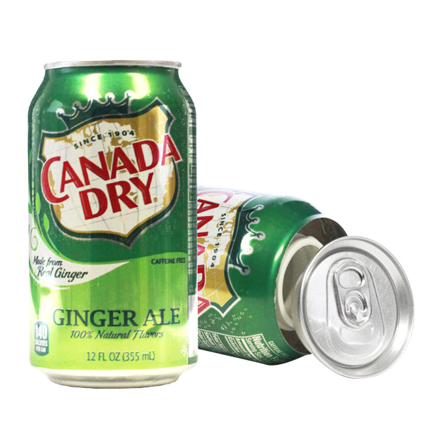 Canada Dry Concealment Soda Can Diversion Safe Stash Can - Concealment Cans Hidden Safe