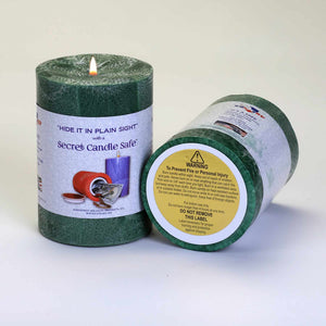 Candle Concealment Diversion Safe Hidden Stash Safe Hidden Safe - Concealment Cans Hidden Safe