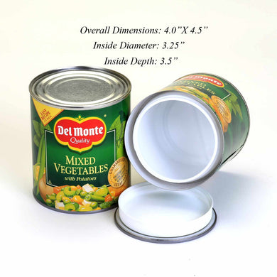 Extra Large Del Monte Mixed Vegetables Concealment Can Diversion Safe Can Stash Safe - Concealment Cans